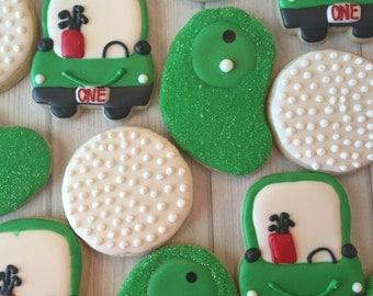 Golf theme Sugar Cookies