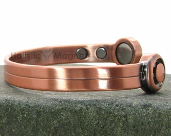 Mens Copper Bracelet| Husband Gift | Copper Jewelry | Golf Gifts for Men | Magnetic Copper Bracelet 4 Natural Therapy|Gifts for Golfers -HPG