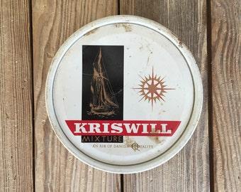Kriswell Tobacco Tin Decor The Petsoe Co Danish