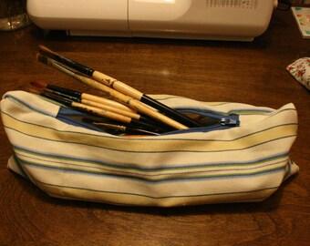 Stripped Pencil Bag