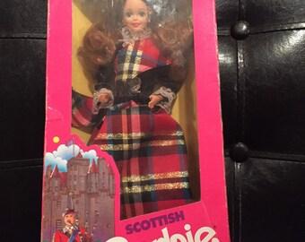 Dolls of The World Sottish Barbie 1990