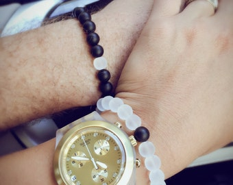 Couple Bracelet Set. True Love. Union