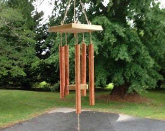 Copper/Wood Wind Chime