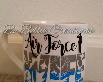 Air Force Wife Coffee Mug 12oz