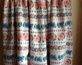 Pretty flower skirt