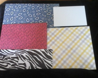 5 GORGEOUS  ENVELOPES