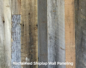 Reclaimed Wood Paneling / Cladding