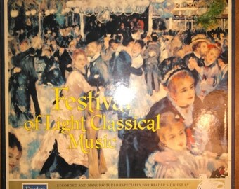 Various Artists - Festival of Light Classical Music Vinyl Record 12LP 1961