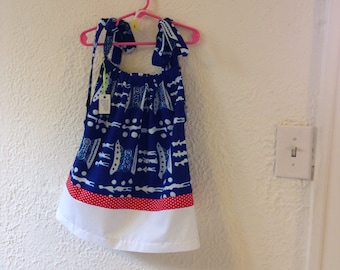 2T pillowcase style dress