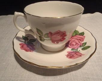 Vintage Royal Vale Teacup and Saucer