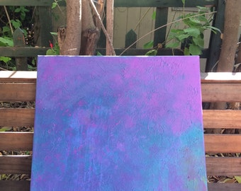 Hint of Violet Acrylic Painting