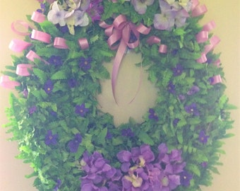 Loving Lavender Wreath