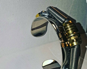 DareByKionde Handcrafted hardware jewelry cuff bracelet
