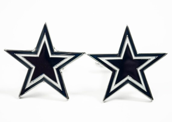 Dallas Cowboys Cuff Links -- FREE SHIPPING with USPS First Class Domestic Mail