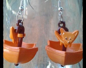 Happy Umbrellas Orange