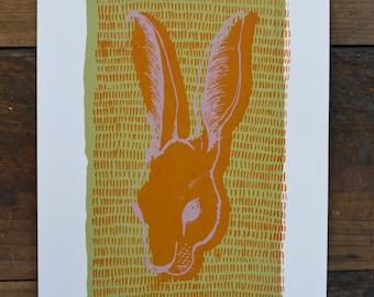 Original Screenprint - Hare