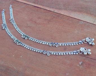 Dancing Anklets | Tribal Anklets | Foot Wear Jewelry | Hand Soldered Anklet | Indian Payal Anklets | Fashion Gift Anklets | Boho Anklets |A5