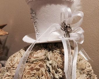 Mini Bridal Steampunk Cosplay Tophat