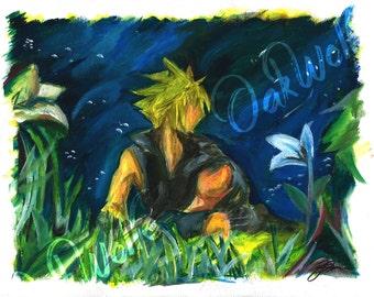 Final Fantasy 7 Advent Children - Cloud and Tifa