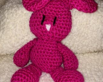 Hand-crocheted Bunny Rabbit