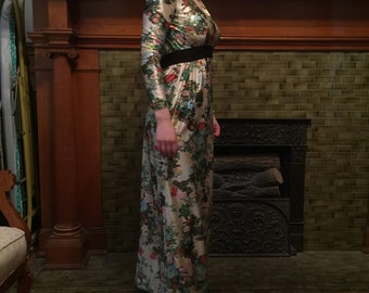 Floral Fancy Maxi Gown
