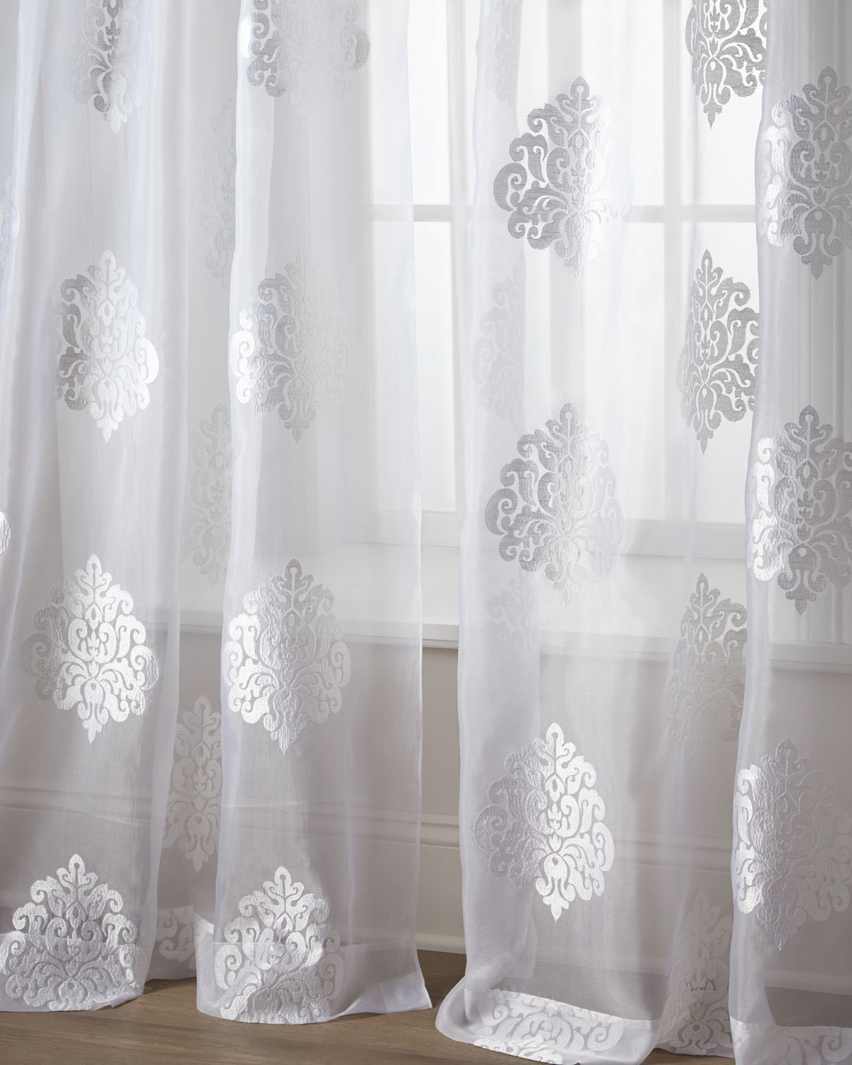 dylon embroidered polyester voile sheer curtains by bharatusaltd. Black Bedroom Furniture Sets. Home Design Ideas