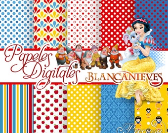 Snow white digital papers