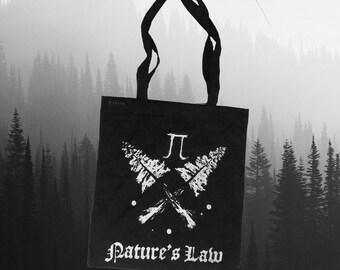 Nature's Law Tote Bag