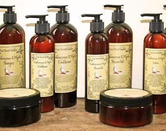 Frankincense & Myrrh Scrub