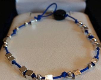 F-OFF Morse Code Cuss-let Beaded Bracelet