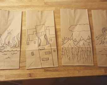 Custom sandwich bags