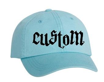 Adams Hat Custom Your Text Adams Cap Baseball Hat Personalized Cap For Cool Summer