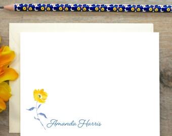 Personalized Stationery, Personalized Stationary, Personalized Note Cards, Thank You Note Cards,  Stationery Set, Custom Stationery