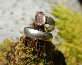 Ring Tourmaline pink & Silver 925