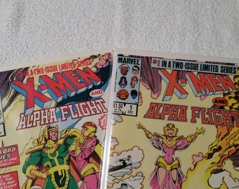 X-Men and Alpha Flight, Complete Limited Series #1 and #2 (1985)