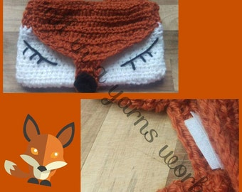 Childrens fox purse