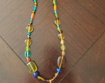 Glass Bead Lanyard