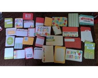 Cardstock cards