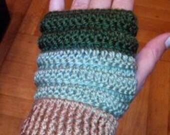 Crochet fingerless gloves,Crochet Pattern,Wrist Warmers, Hand knitted,Fingerless Mitts.colors