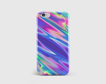 Indie Molten Neon Colour iPhone Case, Beautiful Bright Colourful Paint 80s 90s Phone Case Cover iPhone 7 iPhone 6 iPhone 5 \ hc-pp026