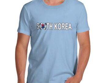 Men's South Korea Flag Football T-Shirt