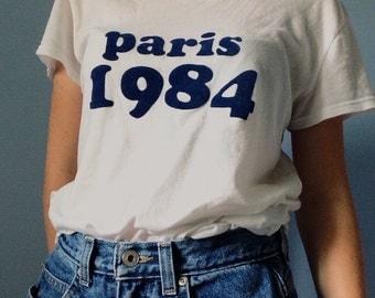 Paris 1984 (8.5x11 print)