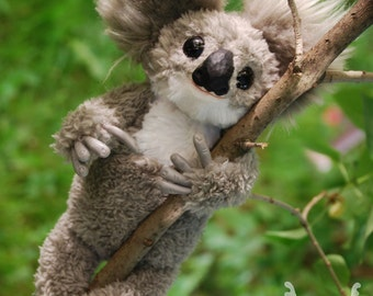Koala stuffed handmade toy