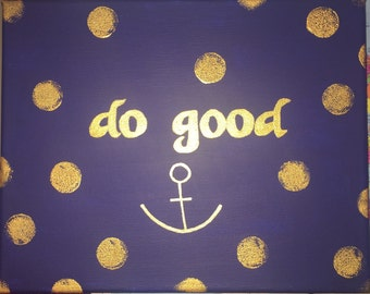 Do Good in gold