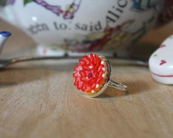 Handmade Strawberry Pie Ring