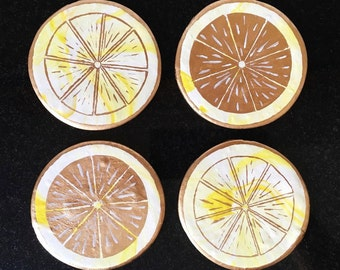 Lemon Coaster (Set of 4)