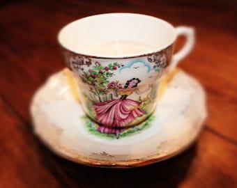 Aroma Glitzy Teacup candle
