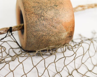 Reclaimed Netting with Rope and Floats