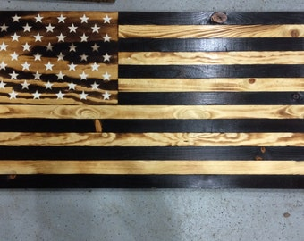 Burned American Flag