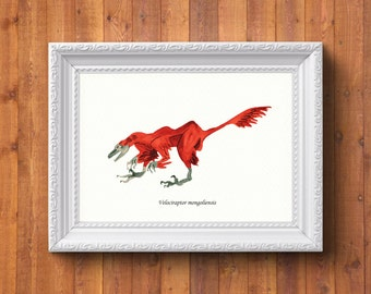 Velociraptor mongoliensis (print)